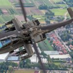 Oefening militaire helikopters