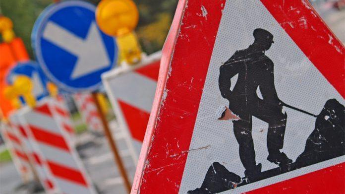 Wegwerkzaamheden Marsdijk in Lienden