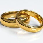 Briljanten en diamanten huwelijksparen
