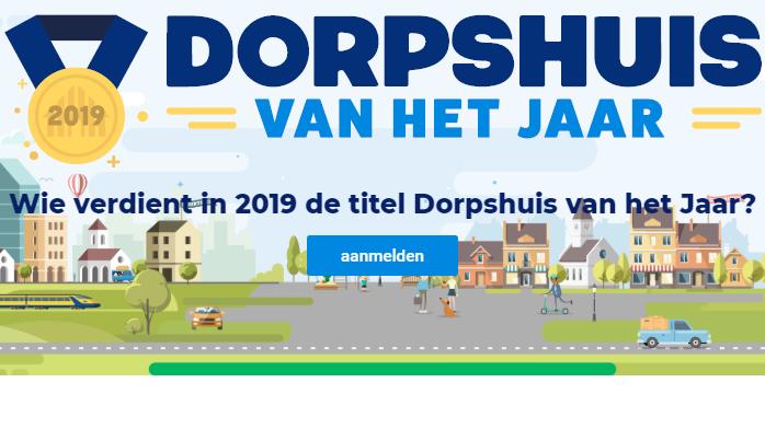 Dorpshuis van het Jaar 2019 van start!
