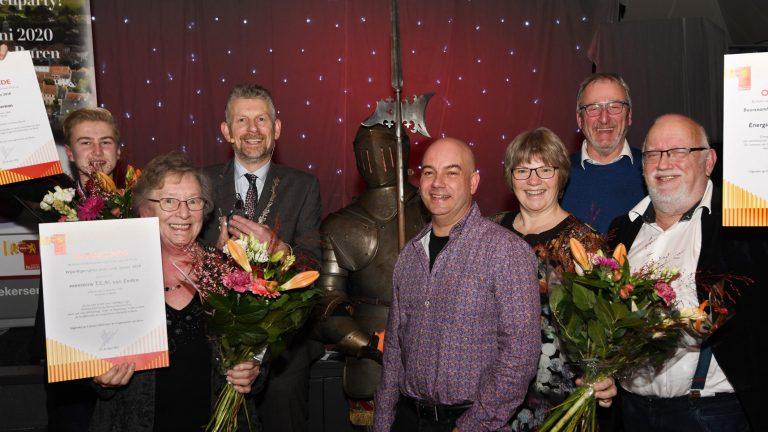 Winnaars vrijwilligersprijzen en toespraak burgemeester