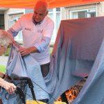 Bewoners Oranjehof krijgen sportief cadeau